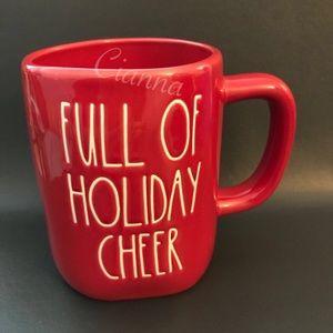 Rae Dunn Full of Holiday Cheer Mug